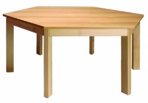 Stůl šestiúhelník