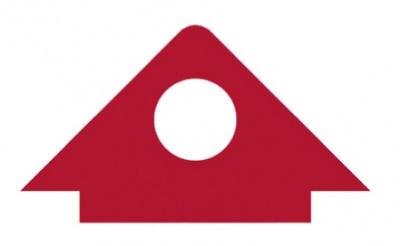 Bambino - Aplikace trojúhelník s kruhovým výřezem přirod. (s.699993)