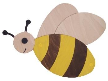 Dekorace včelka