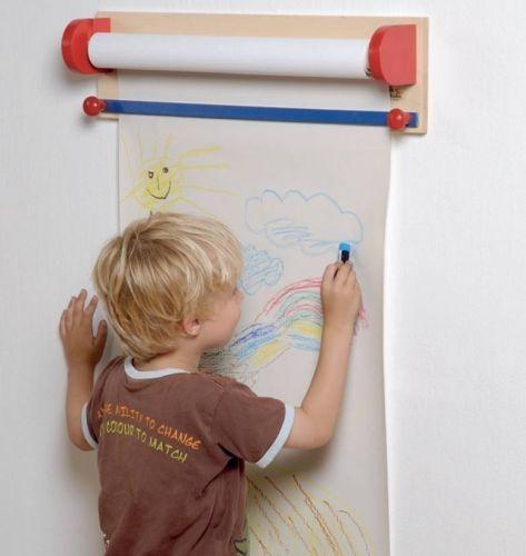 Držák papírové role na malování
