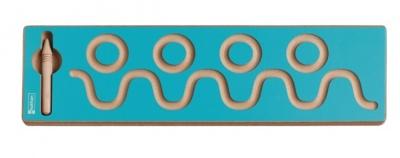 Grafomotorika - vlnky,kroužky