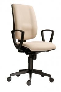 Kancelářská židle SYN, potah červený