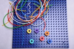 Žížalice set-žížaly + deska modrá