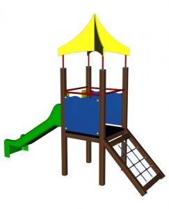 SMART - skluzavka se sítí a střechou