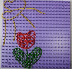 Benžížalice set deska lila