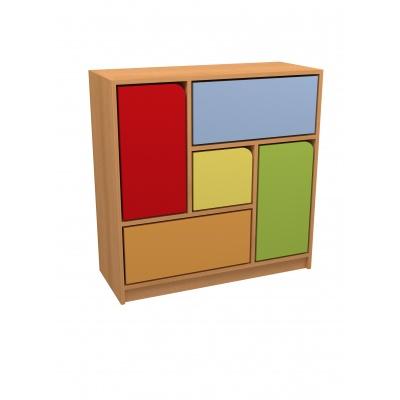 skříňka DUHA 1