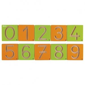 Grafomotorické šablony čísla