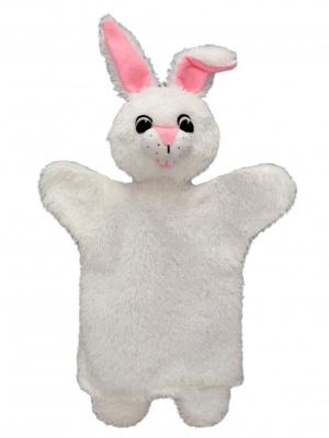 Maňásek králíček bílý