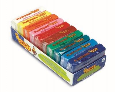 plastelína 10x50g - 10 barev