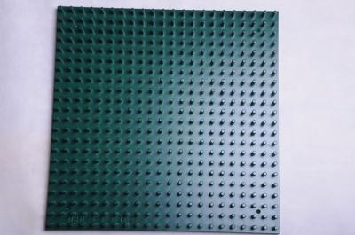 Žížalice - samostatná dřevěná deska tmavě zelená