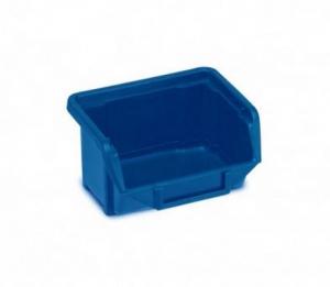 Plastový kastlík dílenský, modrý