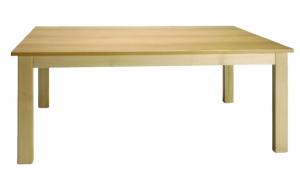 Stůl obdelníkový 120x80/52 deska barevná