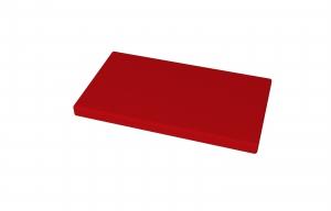 molitanový sedák pro lavičku TOP 004, délky 1500 mm, rozměr 1450x380x40 mm - červený kortexin
