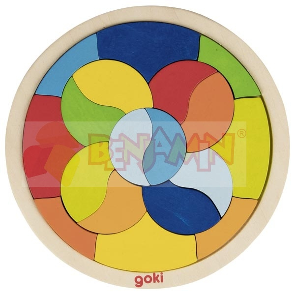 Puzzle mandala