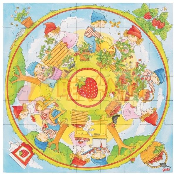 Puzzle pěstujeme jahody