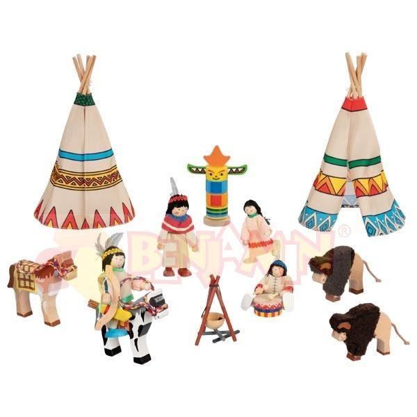 Indiánská osada