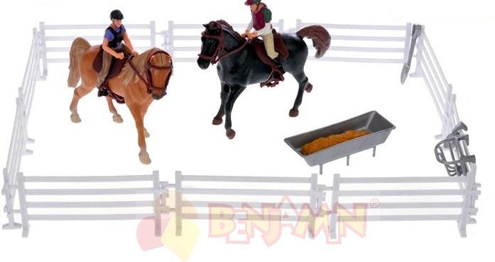 Koníci s jezdci