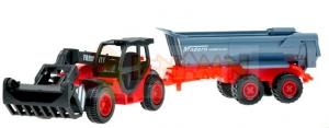 Zemědělský stroj s vlečkou